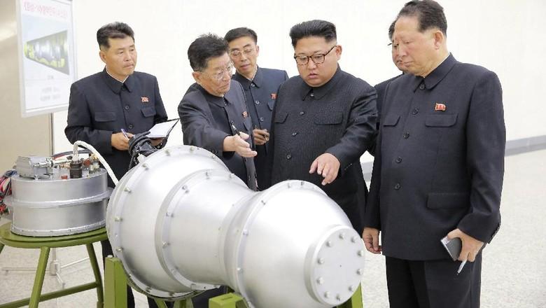 Merkel dan Trump Setuju Korea Utara Diberi Sanksi Lebih Keras