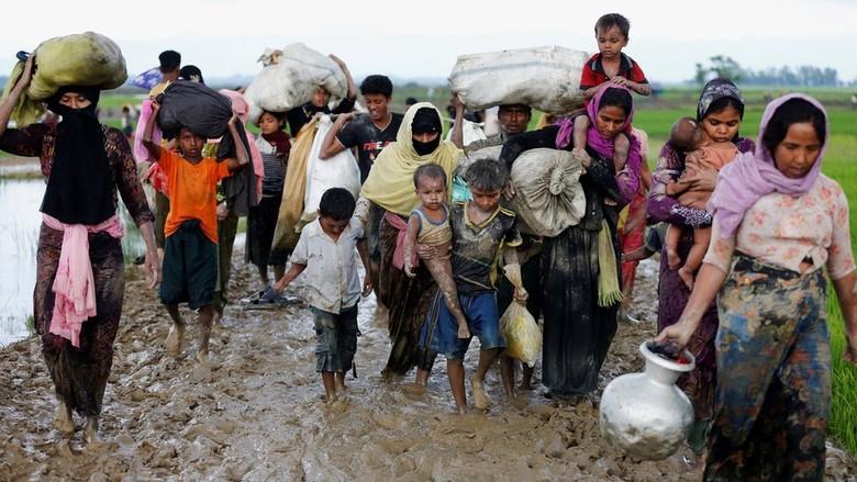 Polisi Bangladesh Abaikan Perintah, Pengungsi Rohingya Boleh Masuk