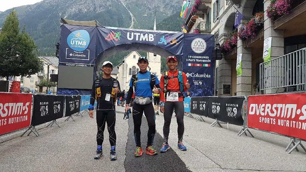 Selamat! Hendra Wijaya Cs Tuntaskan Lomba Lari 300 Km di Prancis