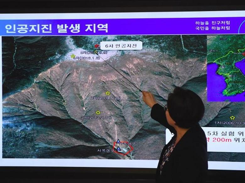 Terowongan di Lokasi Uji Nuklir Korut Roboh, 200 Orang Diduga Tewas