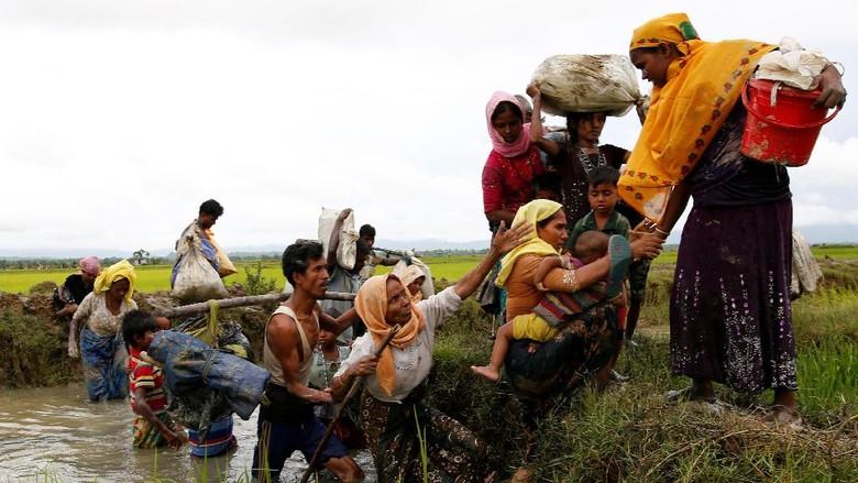 Al-Qaeda Yaman Serukan Serangan di Myanmar untuk Bela Rohingya