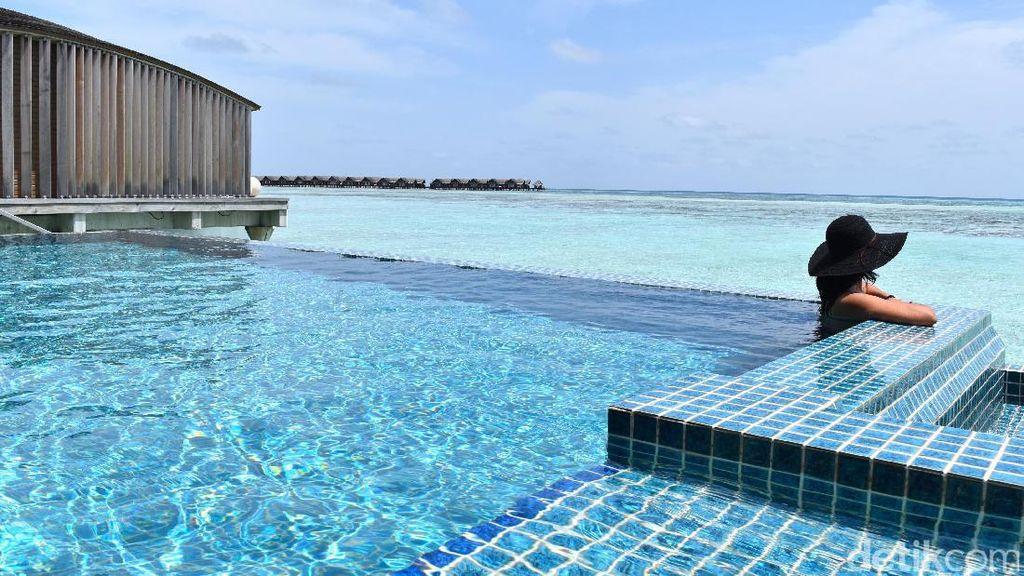 Raisa dan Hamish Daud Lanjut Liburan ke Maldives