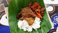 Nasi gudeg yang bisa Anda jadi pilihan makan siang.