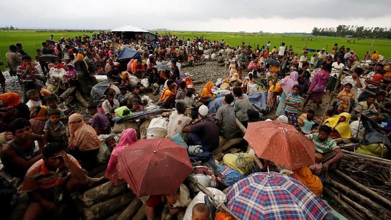Bukan Cuma Rohingya, Warga Buddha dan Hindu Juga Ikut Mengungsi
