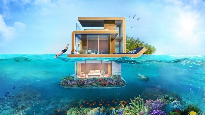 Foto: Dijual! Rumah Bawah Laut Dubai Rp 150 Miliar