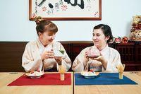 Pengunjung juga bisa mempelajari bagaimana budaya minum teh di Jepang