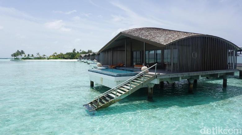 Ilustrasi Maldives (Afif/detikTravel)