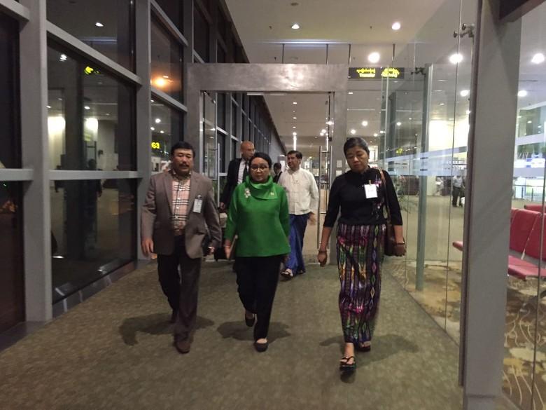 Bertolak ke Naypyidaw, Menlu Retno akan Temui Suu Kyi Bahas Rohingya