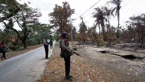 Militer Myanmar Selidiki Dugaan Tindak Kekerasan di Rakhine
