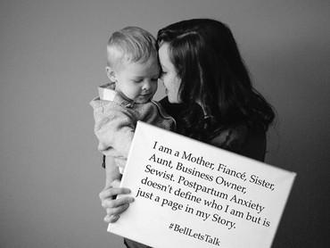 Ibu yang ini adalah seorang pengusaha di bidang tekstil dan ia berhasil melewati masa depresinya setelah melahirkan, yeay! (Foto: Mikaela Shannon Photography)
