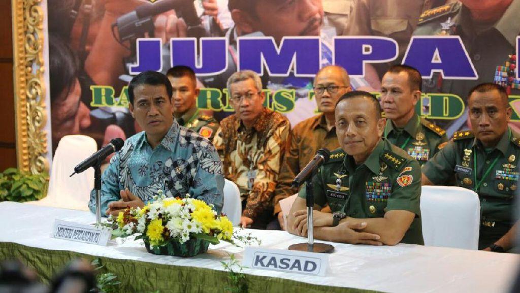 Kementan Gandeng TNI Genjot Produksi Pangan