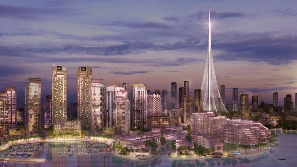 Foto: Sudah Sampai Mana Pembangunan Gedung Tertinggi di Dunia? Cek di Sini