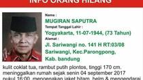 Purnawirawan TNI AU Asal Bandung Dilaporkan Hilang