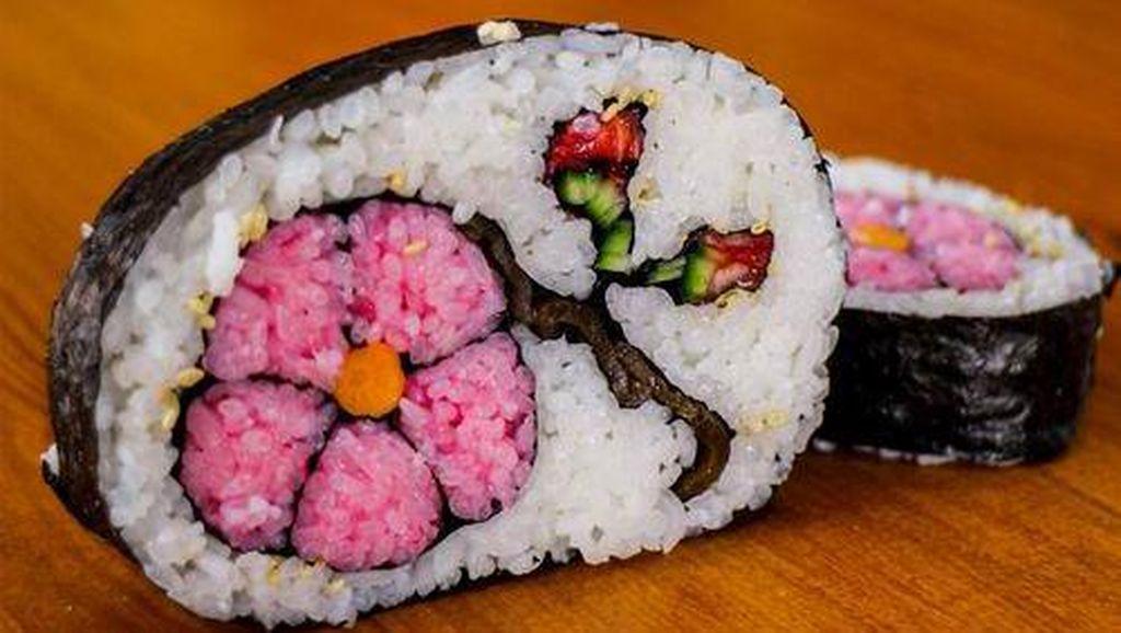 Menggemaskan! Sushi Jepang Ini Dibentuk Mirip Sepatu, Bunga Hingga Obama