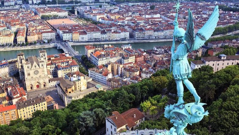 Kota Lyon di Prancis (Thinkstock)