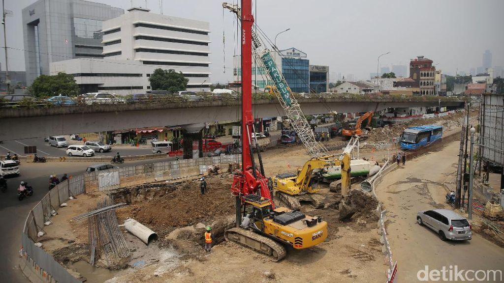 Pembangunan Underpass Matraman Terus Dikebut