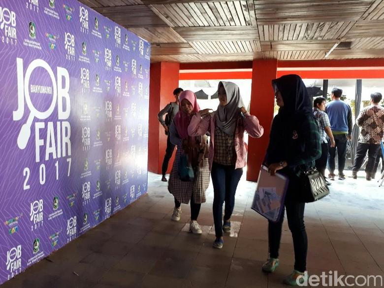 Job Fair Banyuwangi Tawarkan Lebih Dua Ribu Pekerjaan