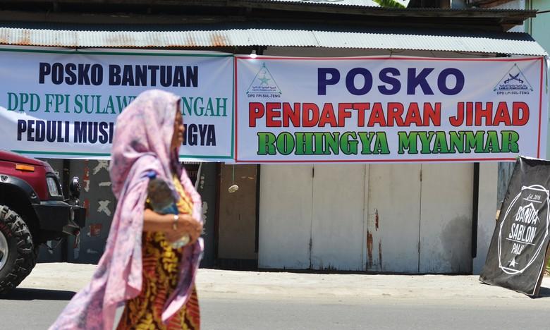 Melihat Posko Pendaftaran FPI untuk Jihad ke Myanmar