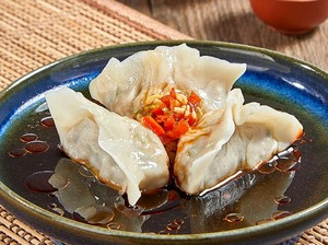 Resep Dim Sum: Chicken Szechuan And Vegetables Dumpling