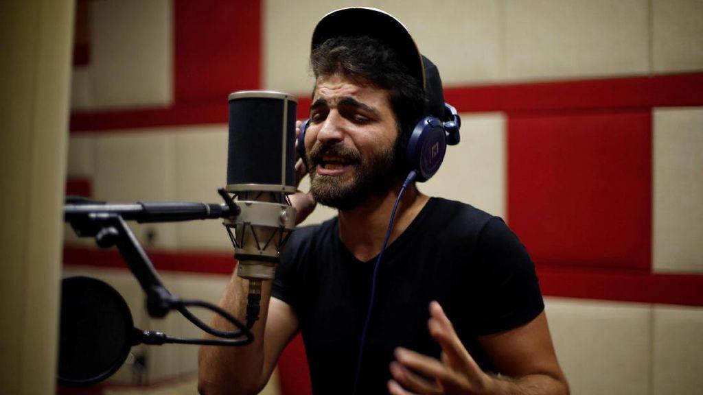 Ibrahim Ghunaim, Rapper Gaza dengan Lirik Penuh Kritik