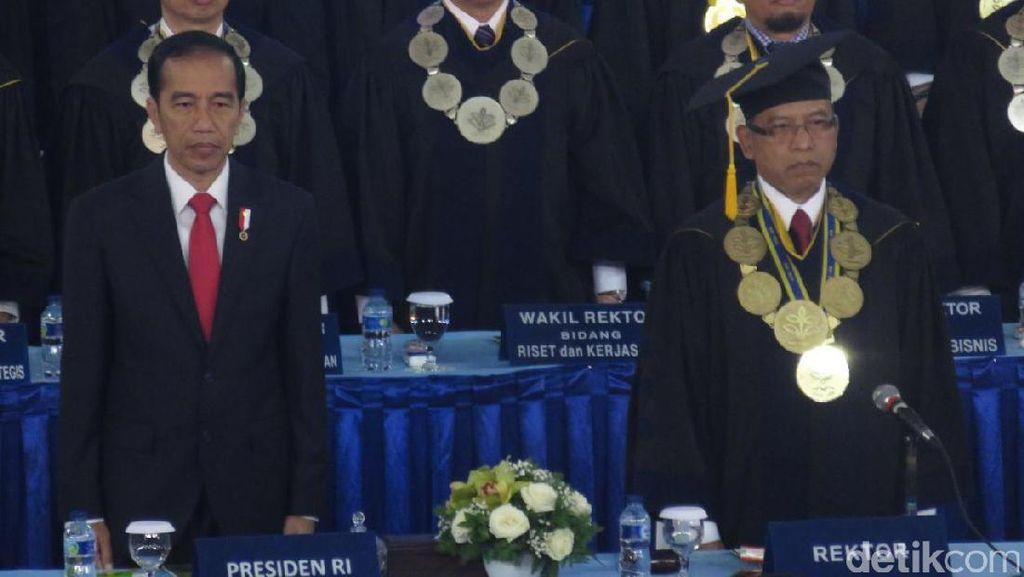 Jokowi: Lulusan IPB Banyak Jadi Direktur BUMN, yang Jadi Petani Siapa?