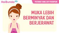 Kondisi Ini Dipercaya Jadi Tanda Hamil Bayi Perempuan./Foto: Infografis