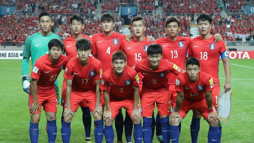 Korea Selatan Lolos ke Piala Dunia 2018