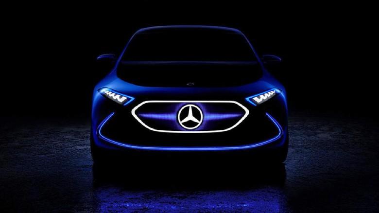 Mercedes-Benz Mulai Lahirkan Mobil Listrik 2022
