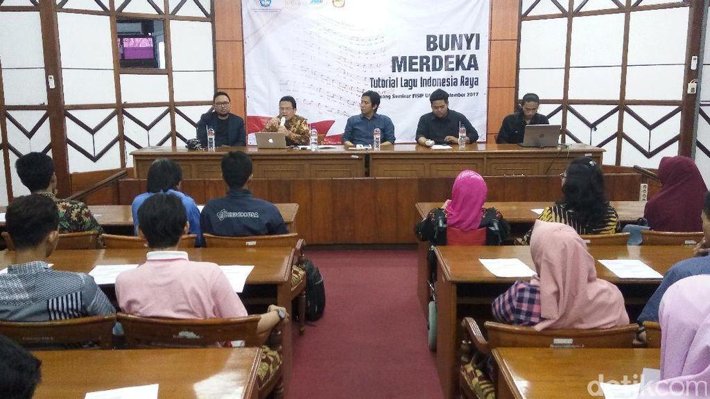 Kemendikbud Sosialisasikan Standarisasi Lagu Indonesia Raya