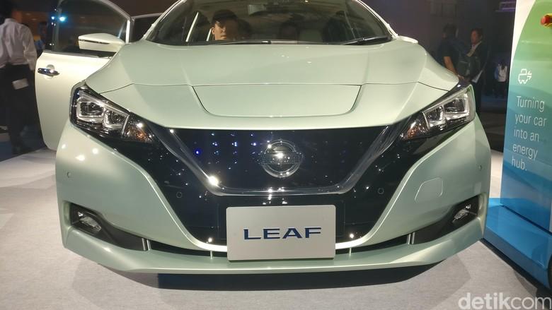 Si Listrik Nissan LEAF Anyar Resmi Meluncur