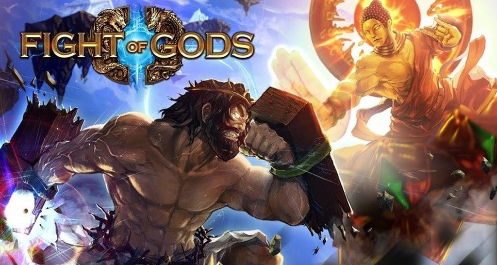Sesuai judulnya, game ini mengusung genre fighting. Game ini digarap oleh developer game indie dan hadir untuk platform Steam. Foto: Screenshot Fight of Gods