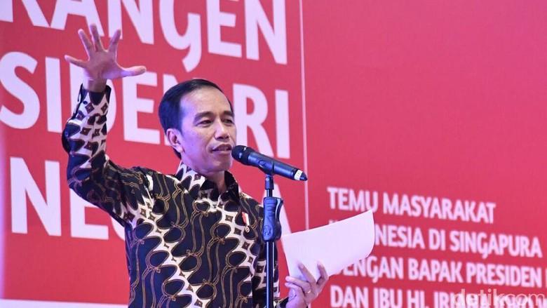 Tanggapi Survei CSIS soal Kepuasan Warga, Jokowi: Tugas Kita Bekerja