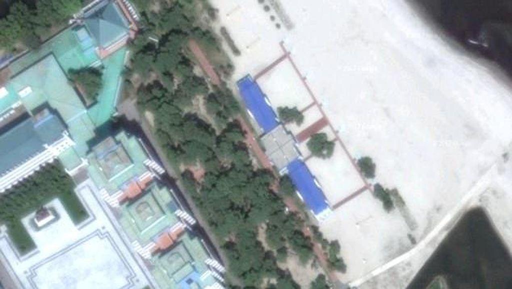 Deretan Lokasi Rahasia Korut yang Kepergok Satelit