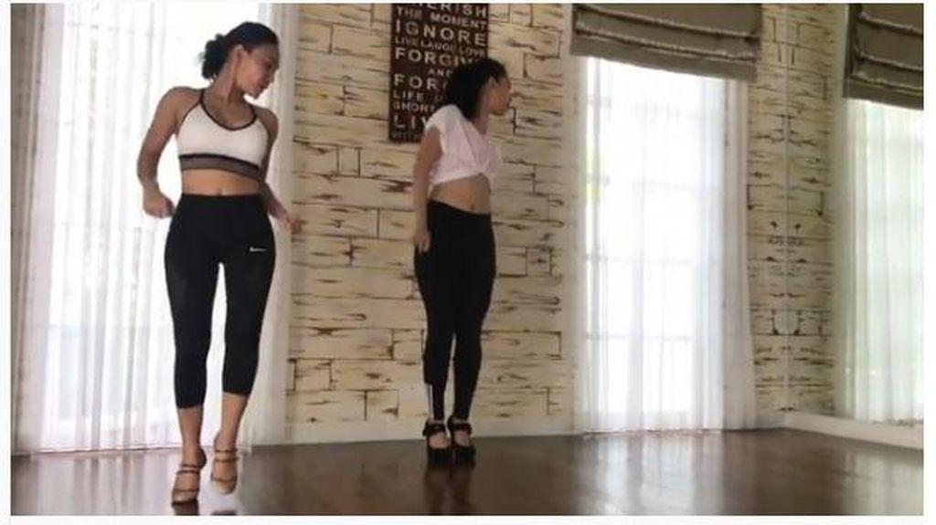Olahraga dengan High Heels? Bisa Kok, Yuni Shara Buktinya