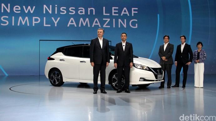 Melihat Lebih Dekat LEAF, Mobil Listrik Teranyar dari Nissan