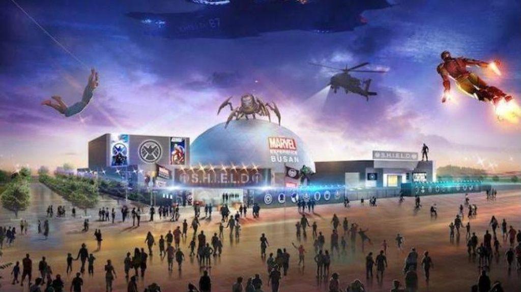 Sensasi Masuk ke Dunia Marvel di Korea