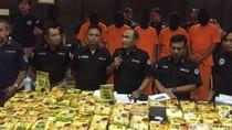 Penampakan 142 Kg Sabu Jaringan Malaysia yang Ditangkap di Medan