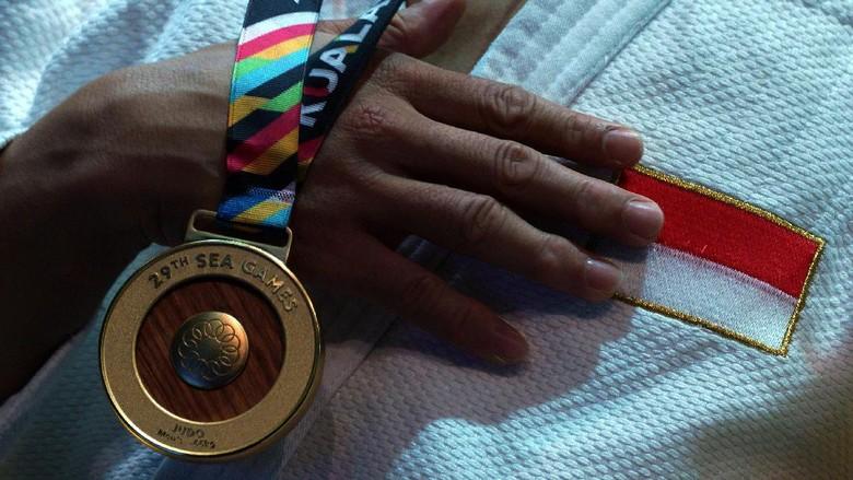 Jumlah Atlet Peraih Emas SEA Games 2017 yang Diangkat Jadi PNS Masih Dikaji