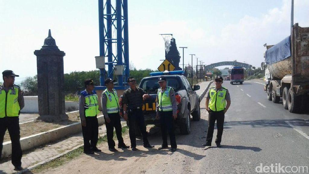 Jateng Siaga 1, Polisi Rembang Jaga Perbatasan Jateng  - Jatim