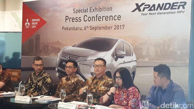 Mitsubishi Xpander 400 Unit Sudah Inden di Riau