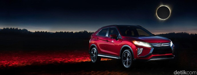 Wow! Mitsubishi Eclipse Cross Menantang Gerhana