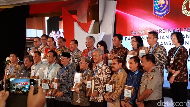 7 Gubernur Tandatangani Nota Kesepahaman Soal Samsat Online