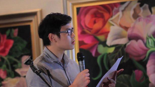 Sean membacakan surat cinta Ahok untuk Vero di HUT Pernikahan ke-20