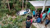 Mobil PLN Masuk Jurang di Purworejo, 1 Orang Luka