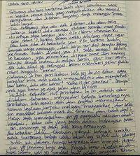 Surat Ahok untuk Vero.