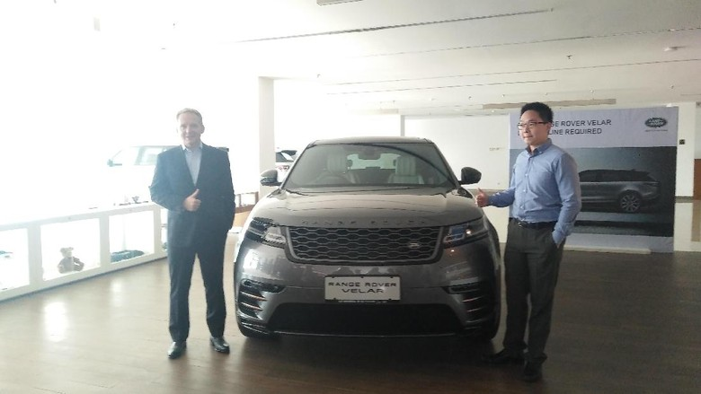 Sesuai Janji, Range Rover Velar Meluncur di Indonesia