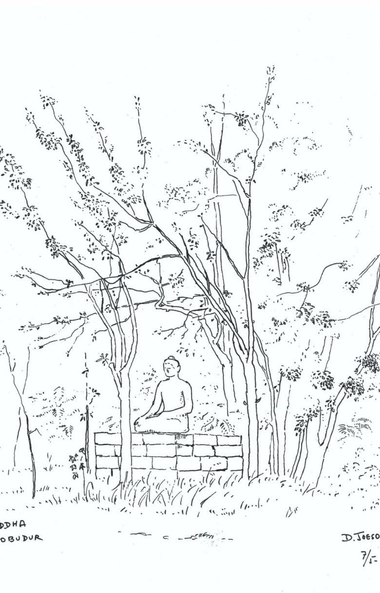 Lebih Dari 100 Mewarnai Gambar Candi Borobudur