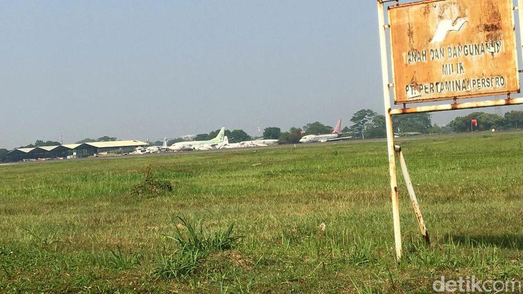 Mau Dibuka Komersial, Bandara Pondok Cabe Dikepung Permukiman