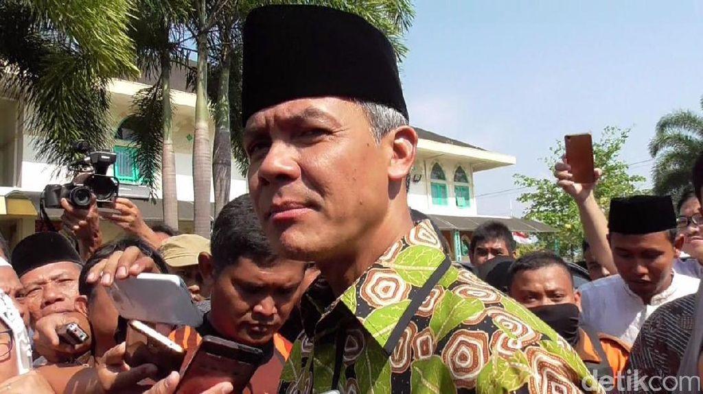 Gubernur Ganjar Ajak Warganet Doakan Banjarnegara