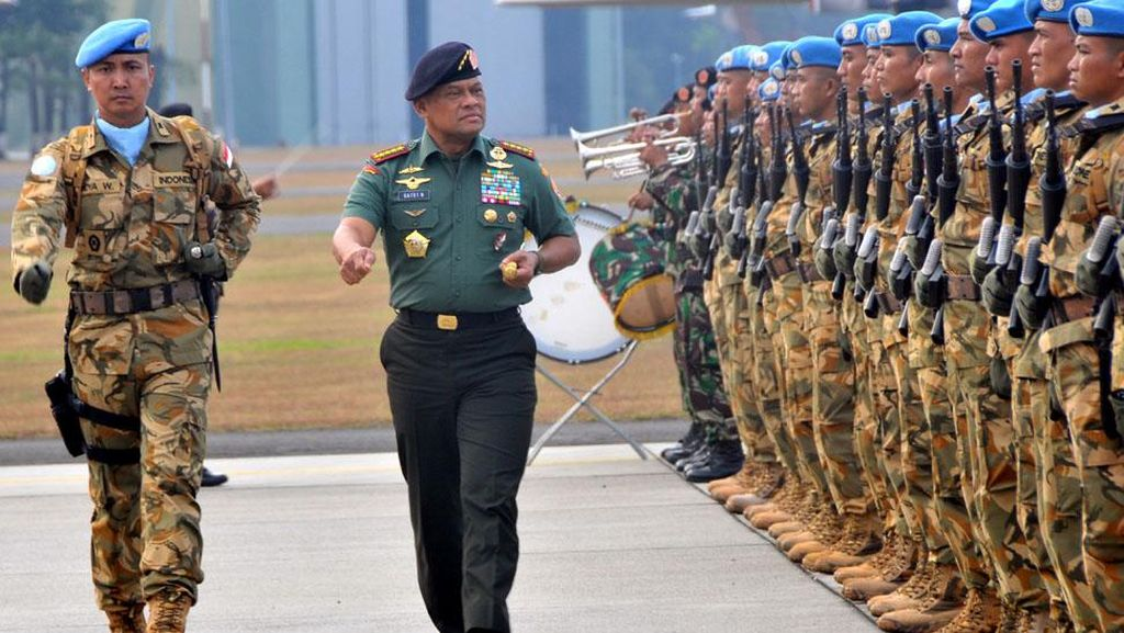 Berisi 6 Orang, Ini Delegasi Ramping Panglima TNI yang Ditolak AS